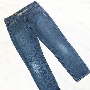 J. Crew Cropped Matchstick Jean